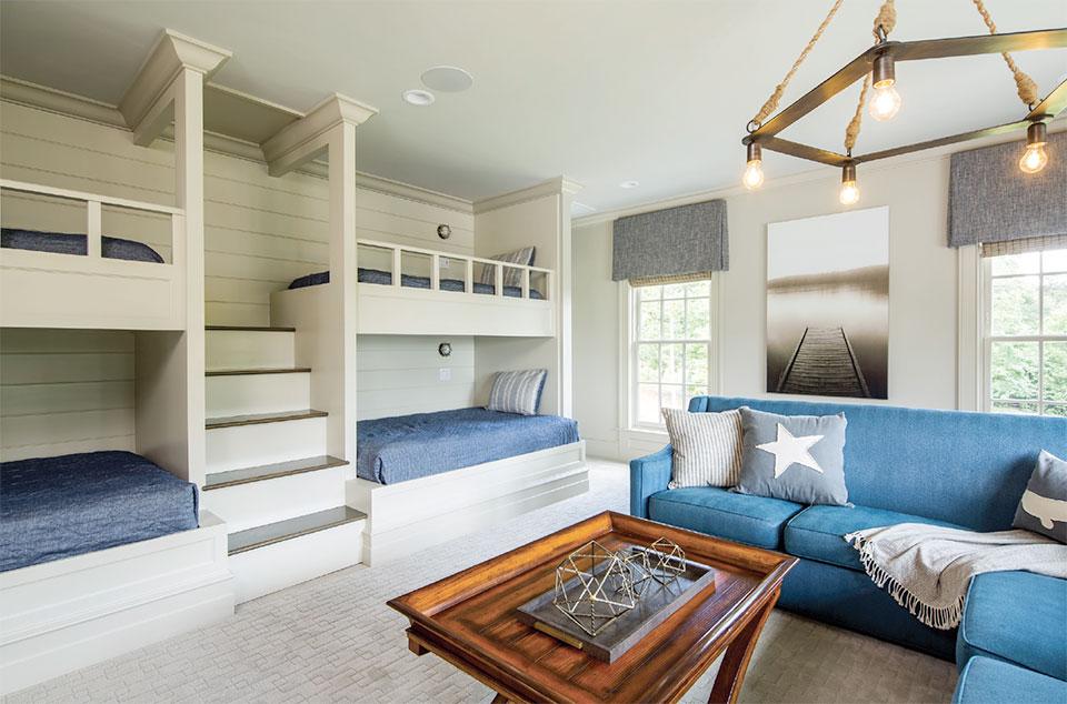 Anne Buresh Interior Design- Jackson Hole Bedroom