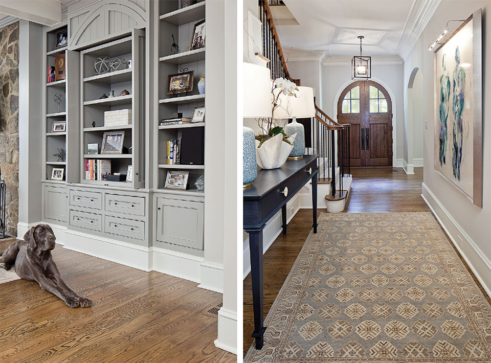 Anne Buresh Interior Design- Jackson Hole Front Door