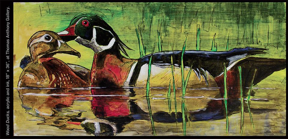 Uncover Your Sensibilities- Park City Wood Ducks
