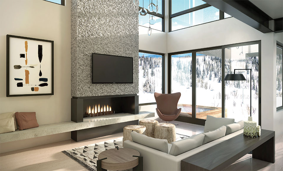 Ridge- Park City Living Room