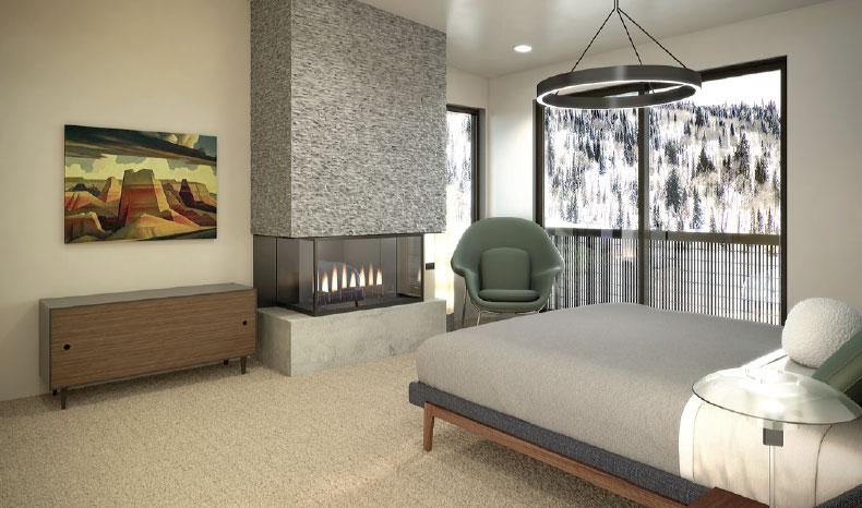 Ridge- Park City Bedroom