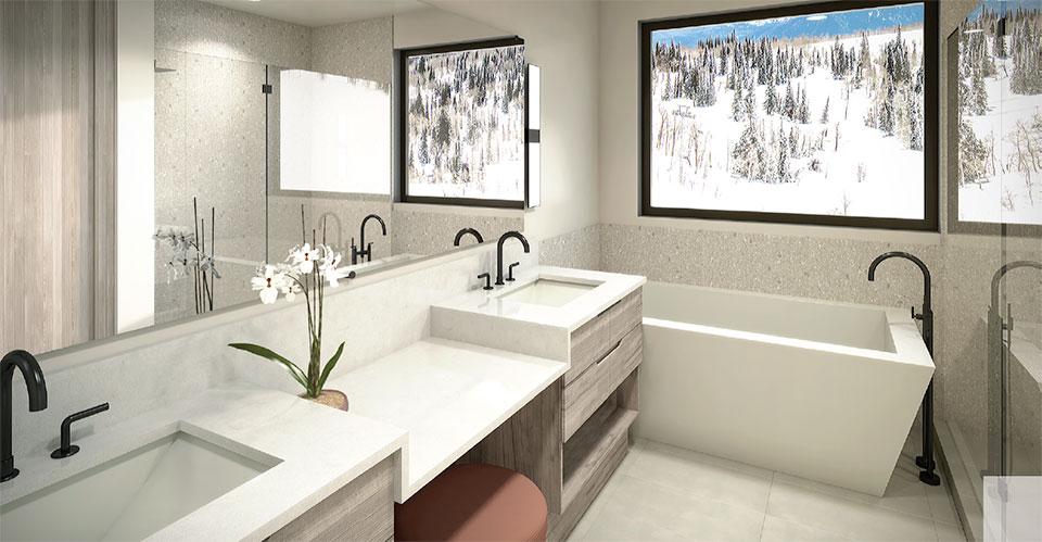 Ridge- Park City Bathroom