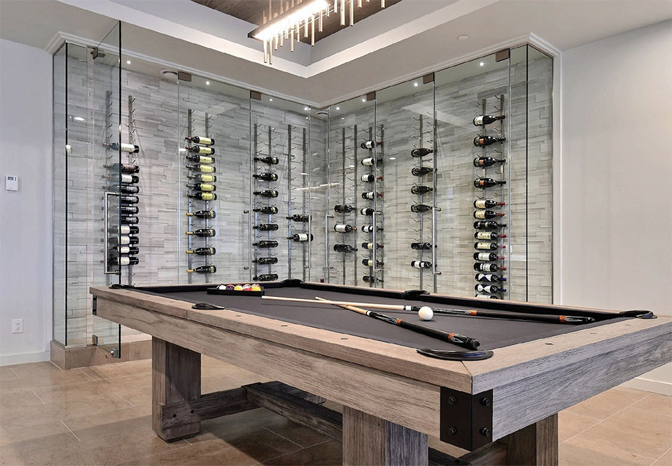 Wine Cellars- Park City Pool Table
