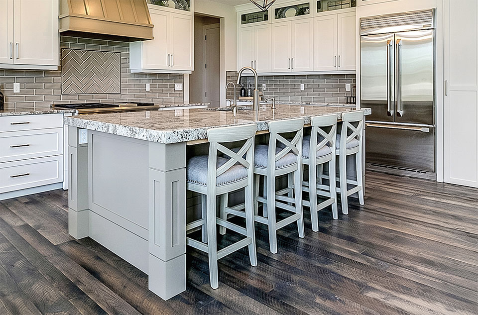 Working with Wood- Park City Kitchen