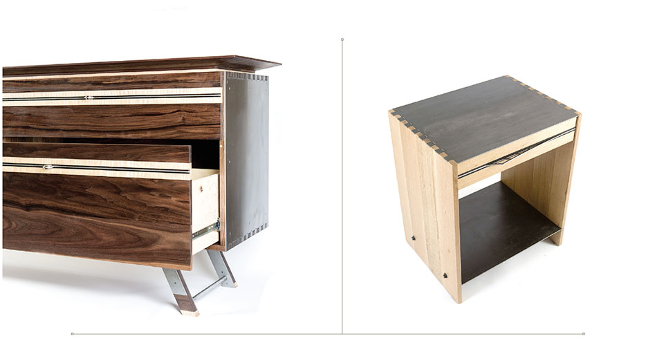 Working with Wood- Park City Dresser and End table