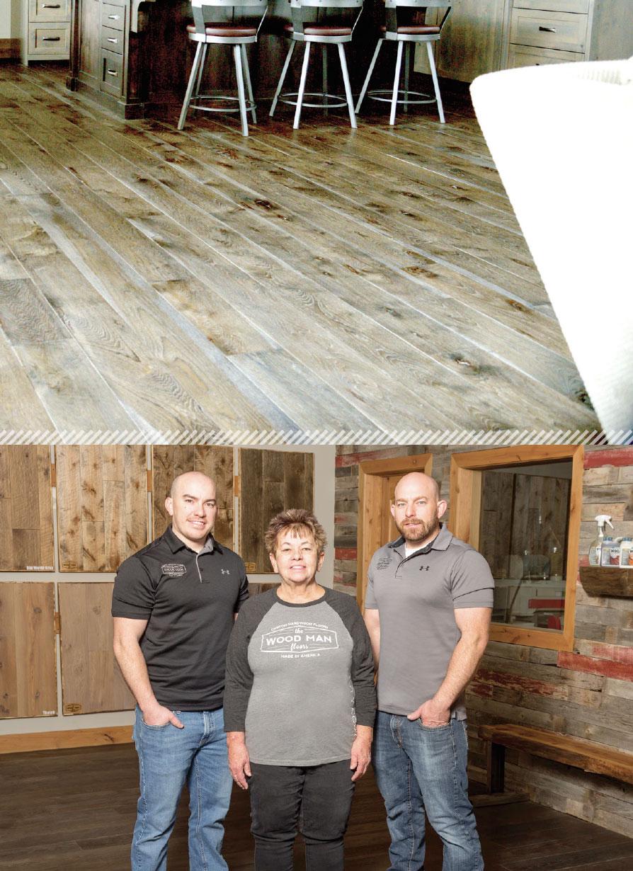 Working with Wood- Park City Kyle, Karen and Josh