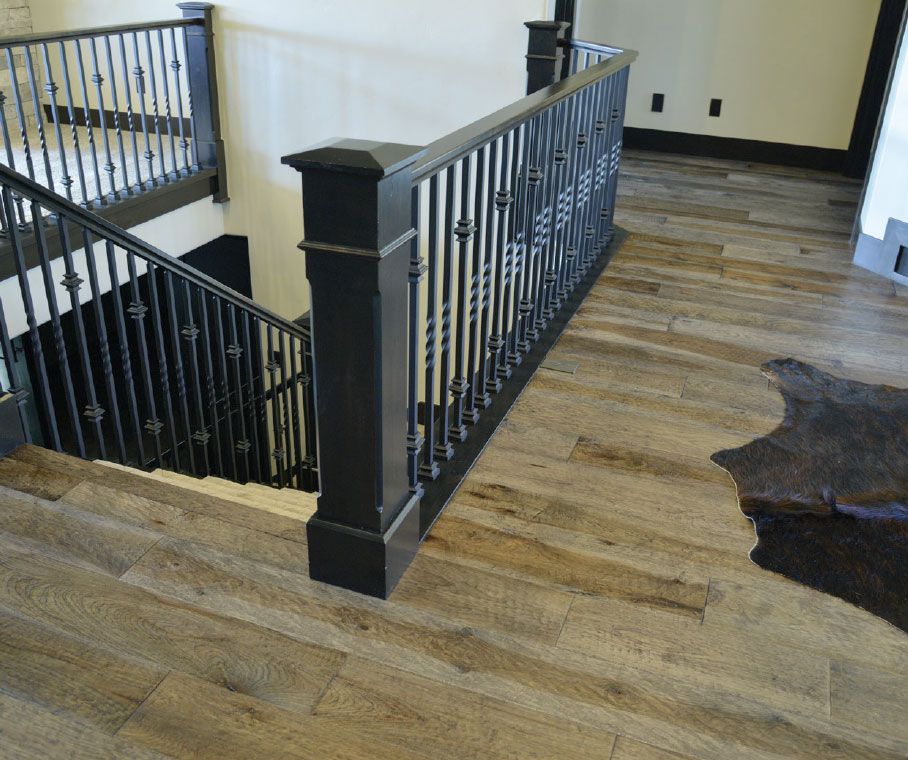 Working with Wood- Park City Stairs