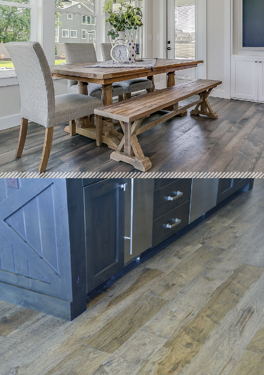 Working with Wood- Park City Table and Floor