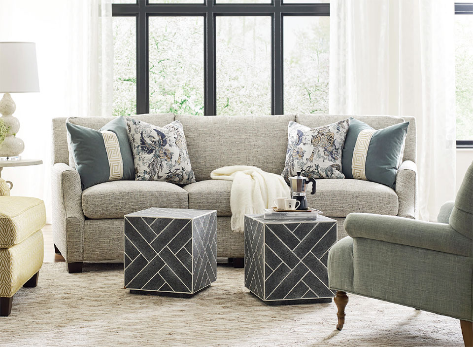 On The Hunt- Sun Valley Grey Sofa