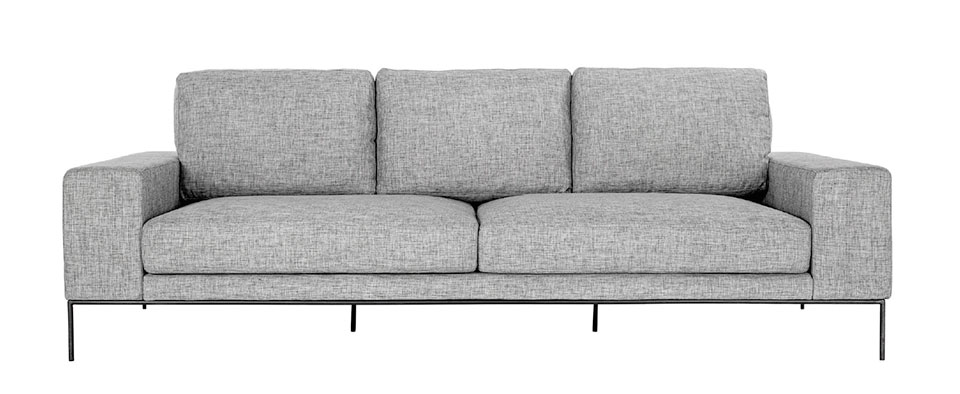 On The Hunt- Sun Valley Grey Sofa 2