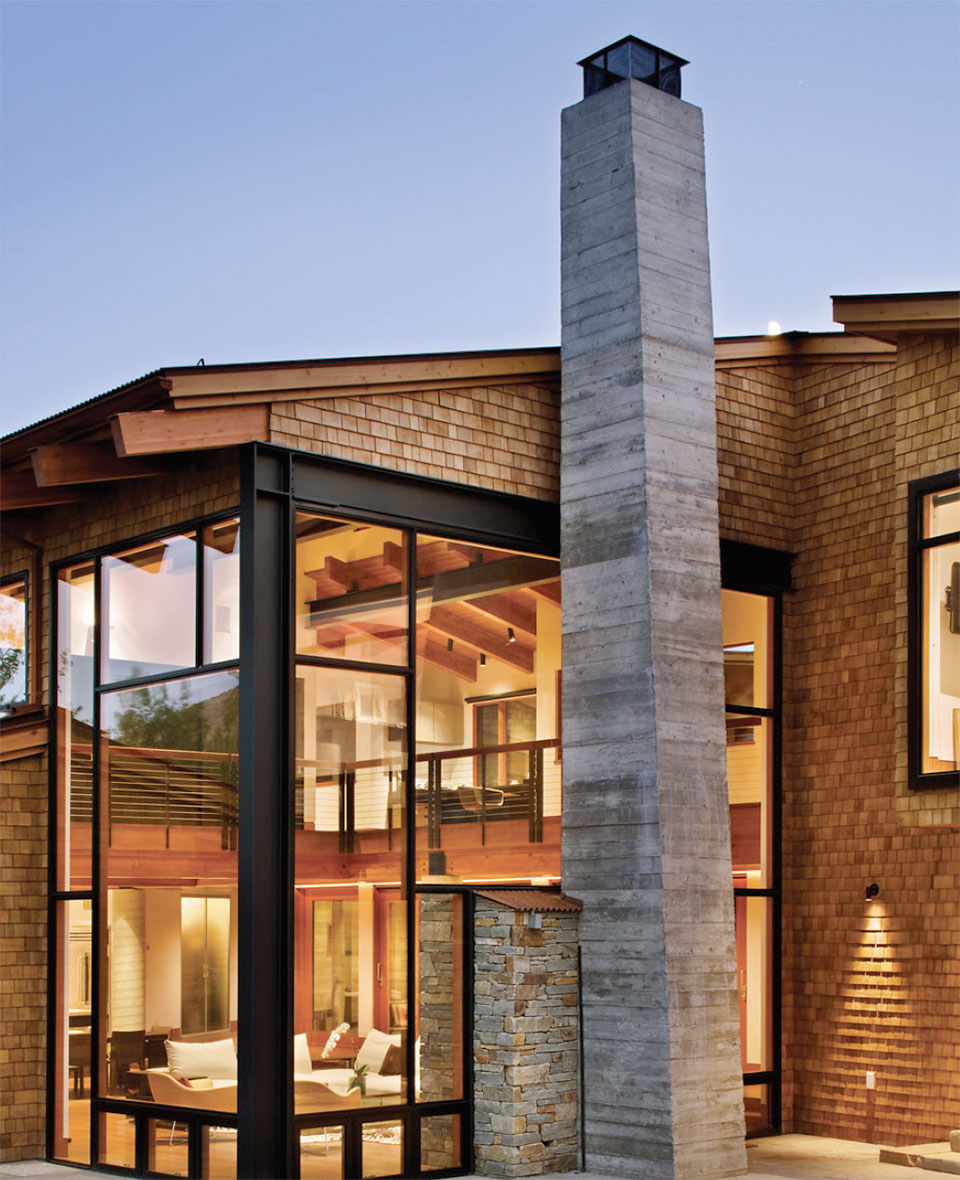 Steel- Sun Valley House Exterior 2