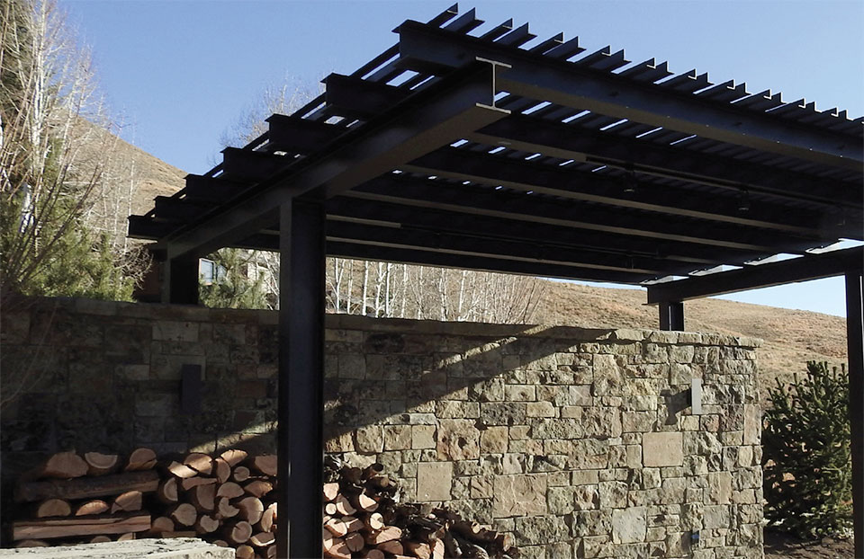 Steel- Sun Valley Pergola