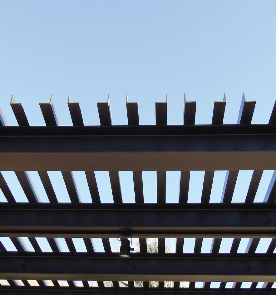Steel- Sun Valley Pergola 2