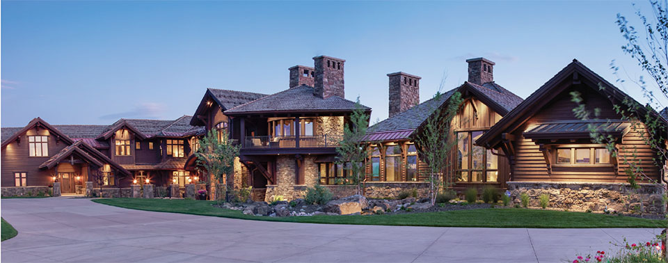 The Relationships that Make a House a Home- Jackson Hole House Exterior 2