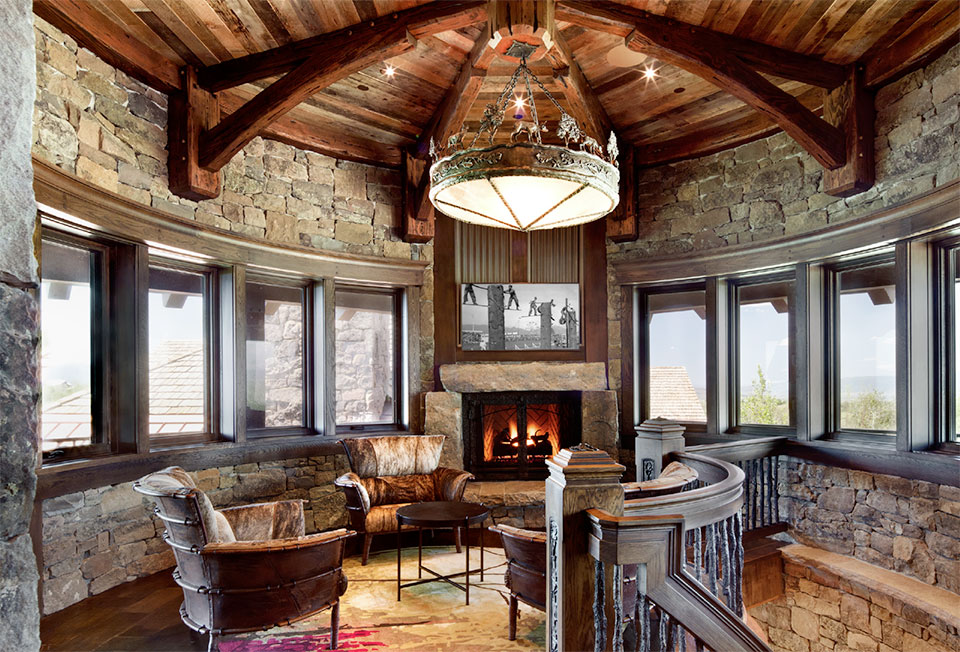 The Relationships that Make a House a Home- Jackson Hole Living Room