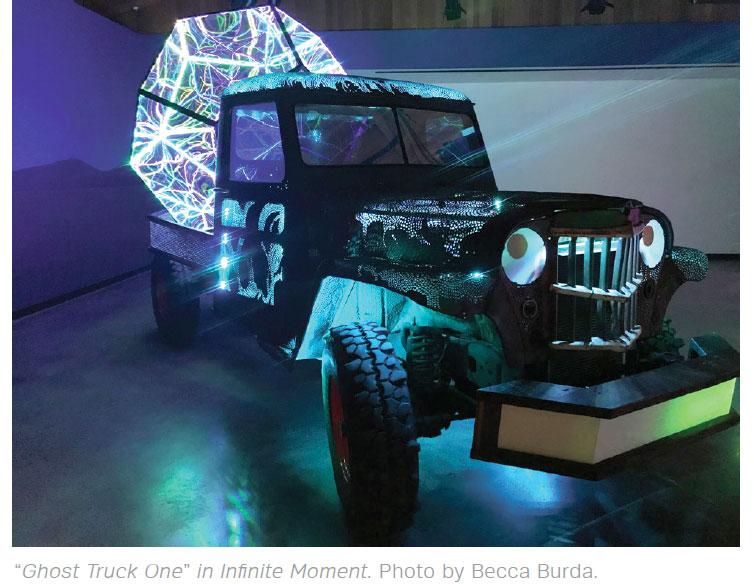 Art in Bend- Bend Ghost Truck
