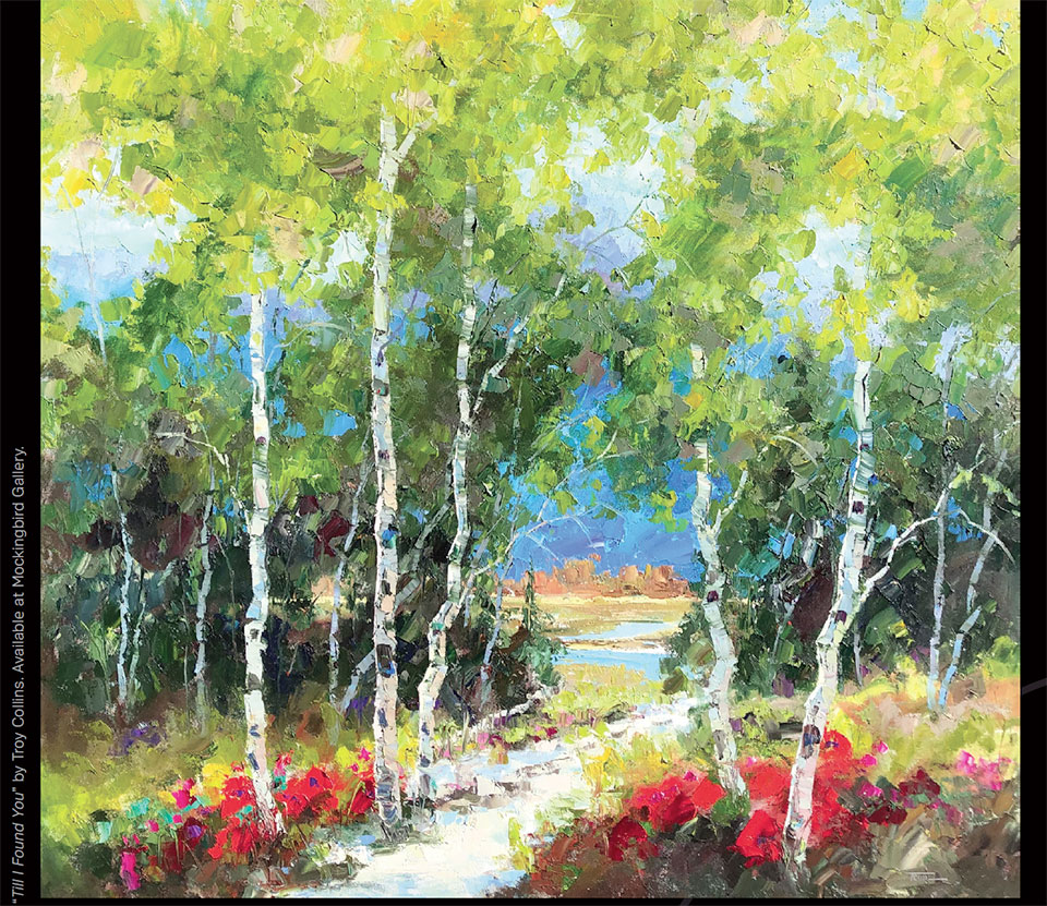 Art in Bend- Bend Tree Painting