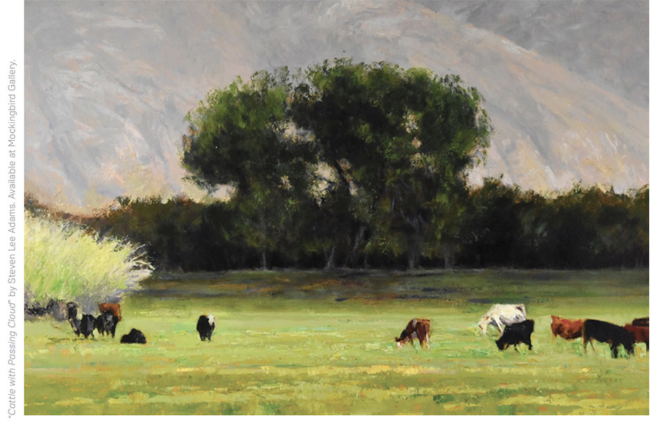 Art in Bend- Bend Cattle Painting