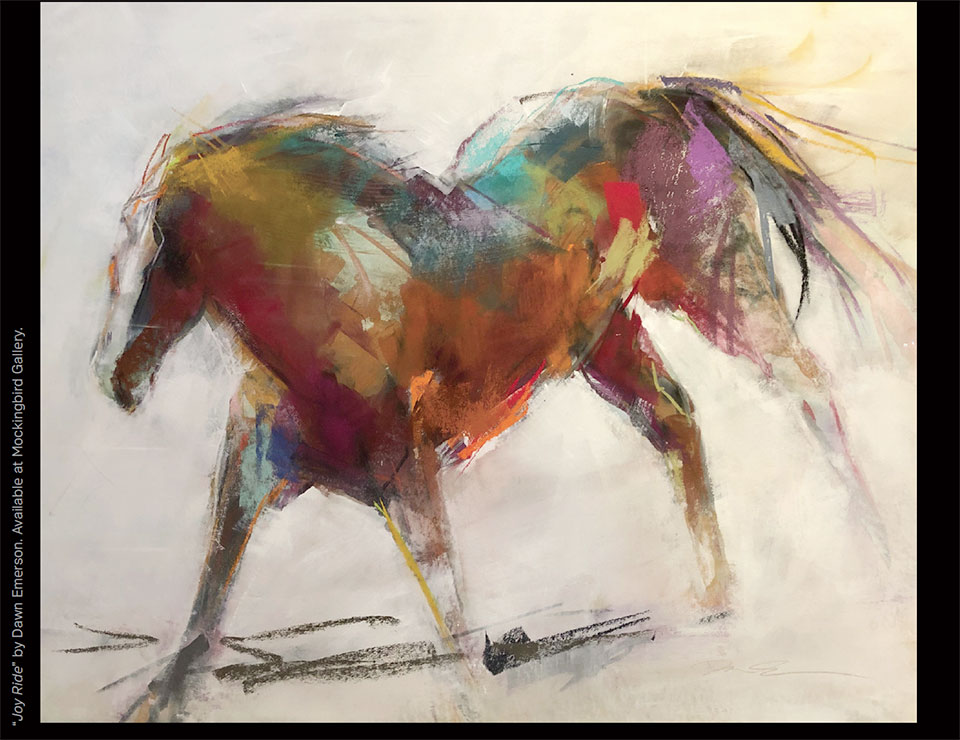 Art in Bend- Bend Horse Painting