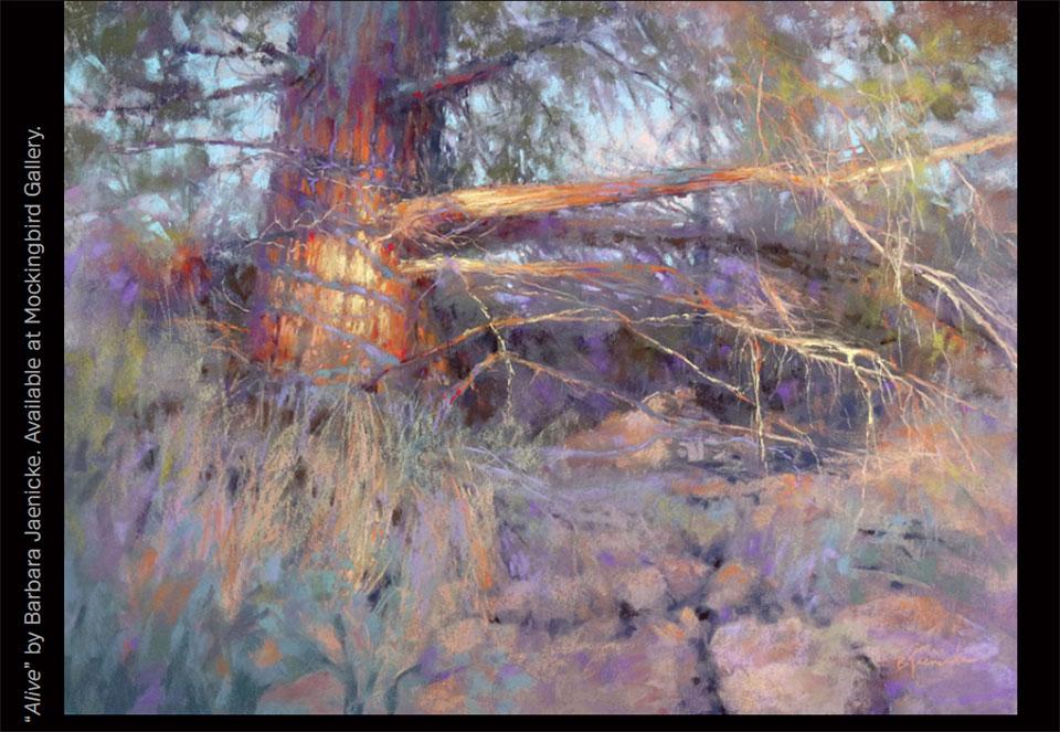 Art in Bend- Bend Tree Painting 2