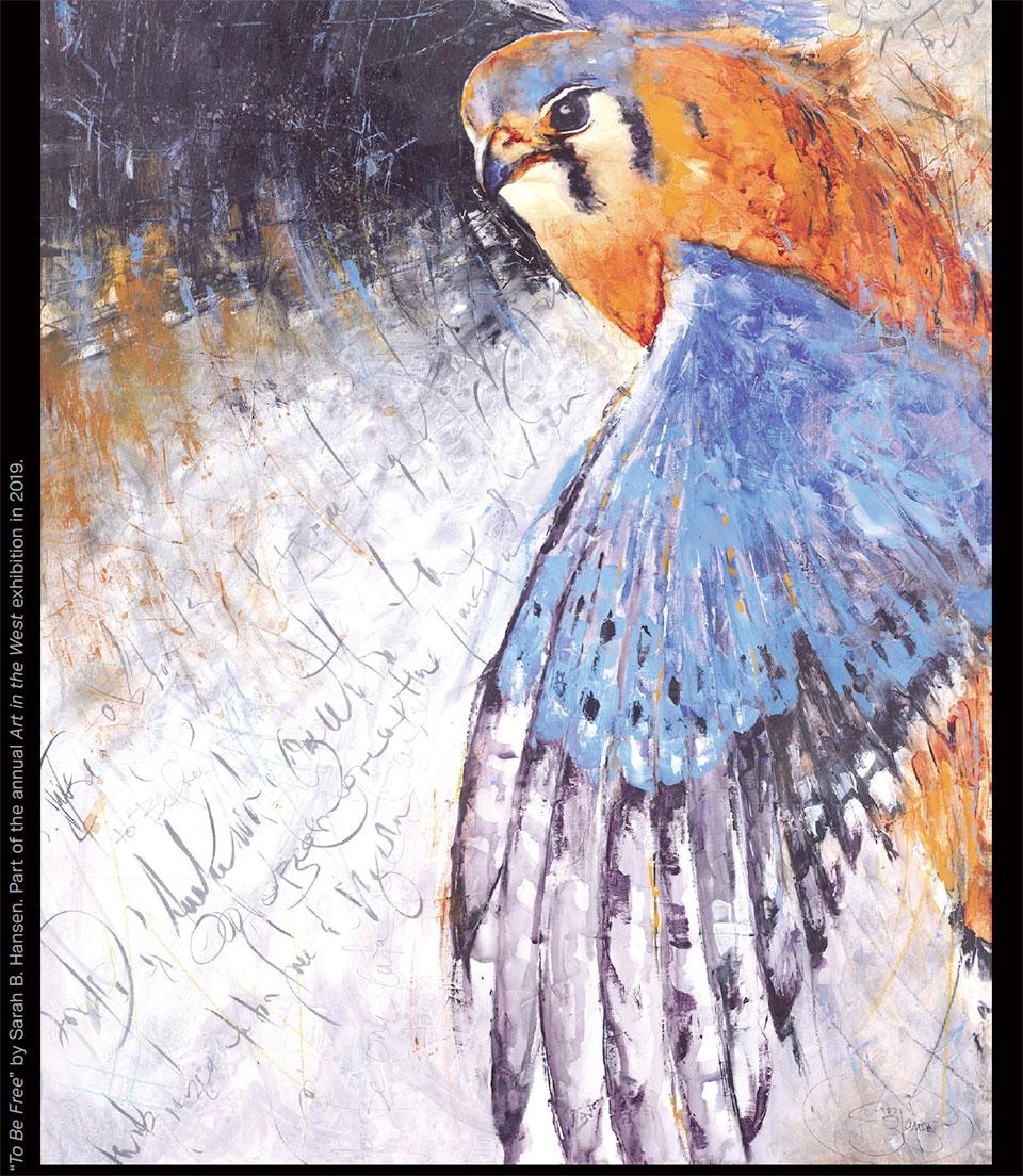 Art in Bend- Bend Bird Painting