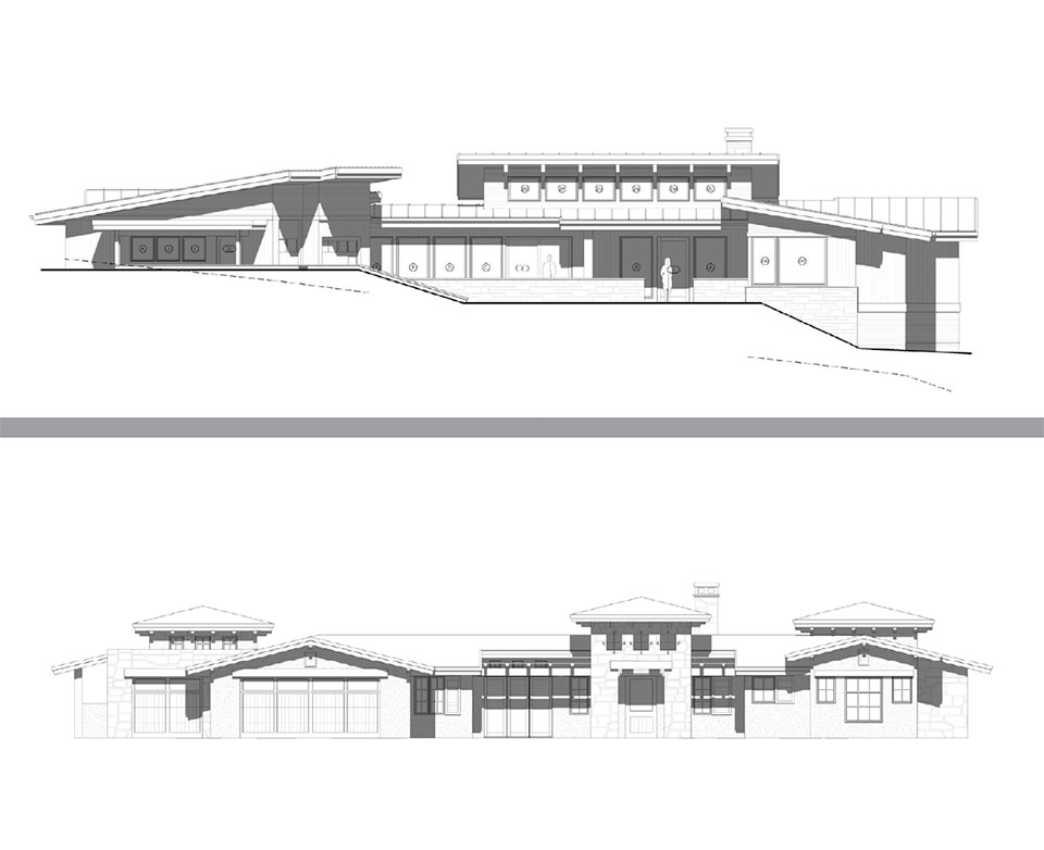 Hollyman Design- Bend House Drawings