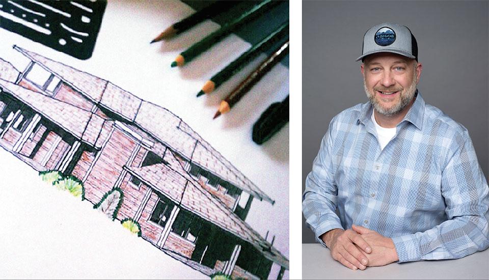 Hollyman Design- Bend Sketch