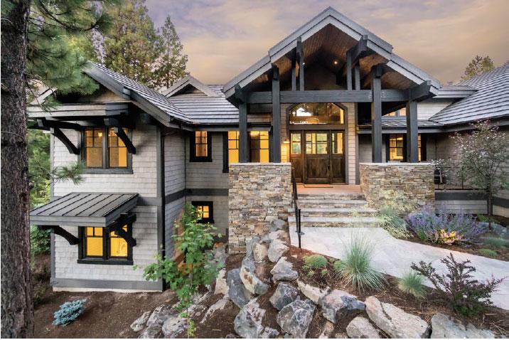 Sun Forest Construction- Bend House Exterior