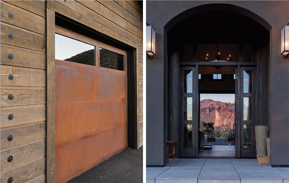 Sunrise Construction of Oregon- Bend Garage and Front Door