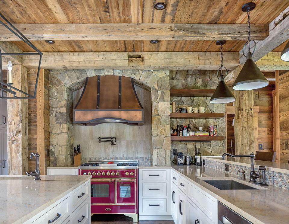 Surfaces- Bend Kitchen and Reclaimed Wood 2