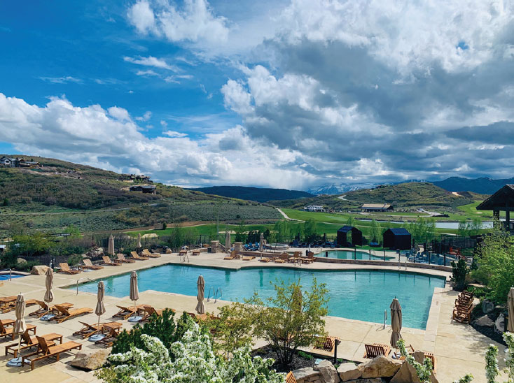 Talisker Club: A Private Wonderland- Park City Golf and Pool